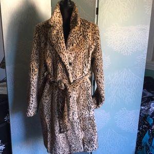 Liz Claiborne Leppard coat